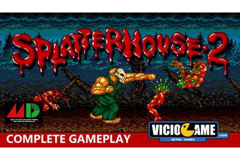 Splatterhouse 2 (Mega Drive) Complete Gameplay - YouTube