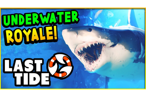 EPIC New UNDERWATER Battle Royale Game with SHARKS! - Last ...