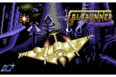 Goldrunner (1987) by author C64 game