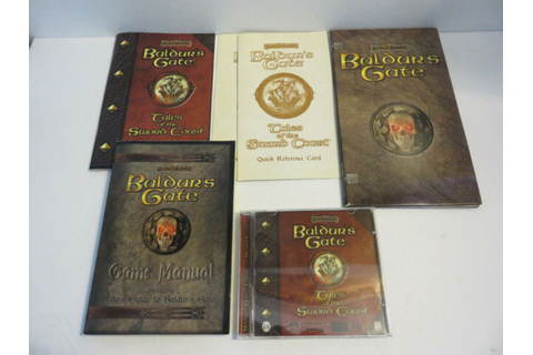 BALDUR'S GATE 5 DISC SET TALES OF THE SWORD COAST GAMES ...