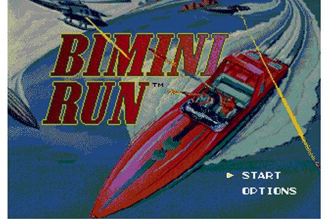 Download Bimini Run (Genesis) - My Abandonware