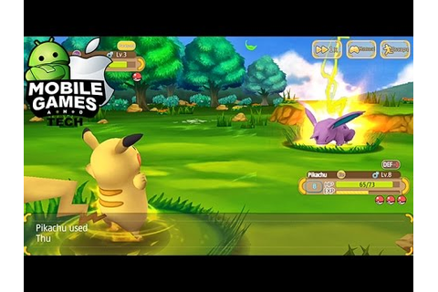 Monster Park - One More Pokémon 3D Clone Game Android iOS ...