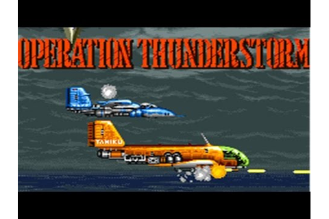 Varth: Operation Thunderstorm (Arcade/Capcom/1992) [720p ...