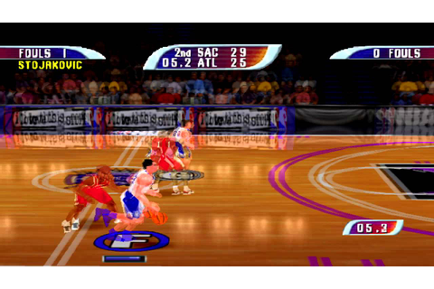 Nba Hoopz Gameplay (PSX,PsOne,Playstation) - YouTube