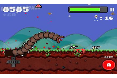 Super mega worm Android Game free download in Apk