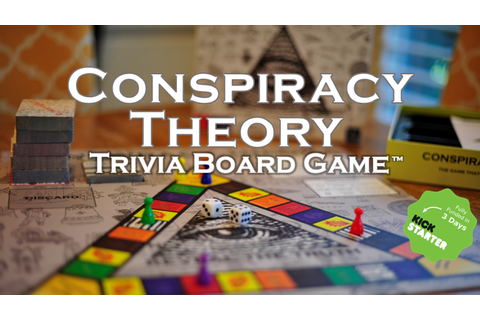 Conspiracy Theory Trivia Board Game by Neddy Games ...