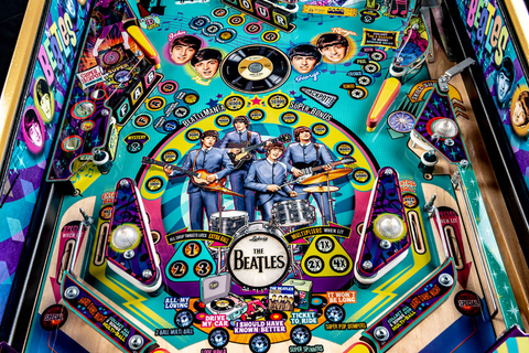 Las Vegas man designs Beatles-themed pinball machine | Las ...