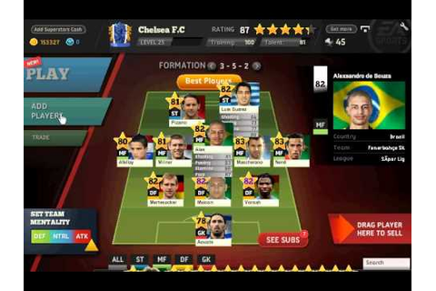 Fifa Superstars Facebook match credit bug - YouTube
