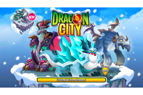 Dragon city - Play New Mission [Blizzard Island] And get ...