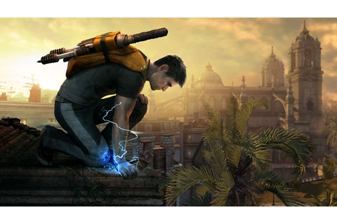 The InFamous 2 team is building a better superhero game ...
