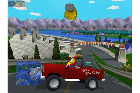 Simpsons Road Rage Screenshots - Video Game News, Videos ...