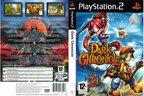 Base : Dark Chronicle - Capa & Label Game PS2