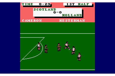 Emlyn Hughes International Soccer (1988) by Audiogenic ...