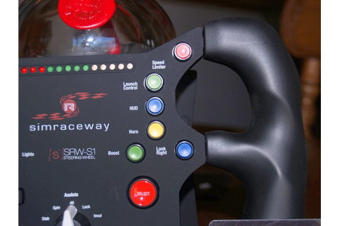 SteelSeries Simraceway SRW-S1 Steering Wheel Review ...