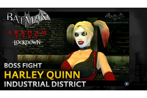 Batman: Arkham City Lockdown - Walkthrough - Harley Quinn ...