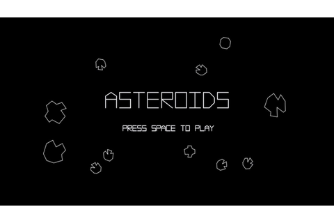 VB.NET Games - Asteroids (Atari 1979) Game in Visual Basic ...