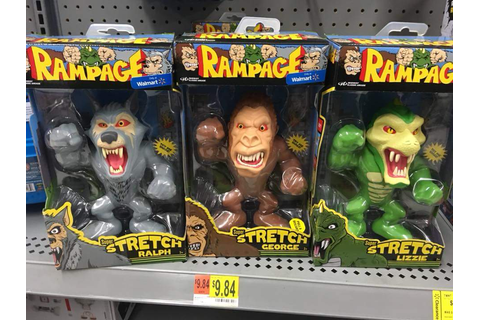 Rampage Video Game Toys - Toy Discussion at Toyark.com