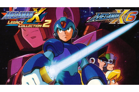 Mega Man X Legacy Collection 1 + 2: Mega Man X6 FULL GAME ...