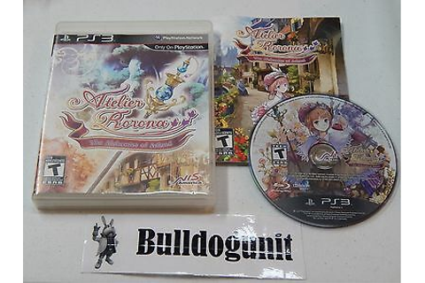 Atelier Rorona The Alchemist of Arland Playstation 3 PS3 ...