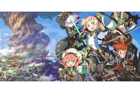 Etrian Odyssey V Beyond the Myth Has a New Trailer | Game Hype