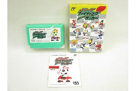 J LEAGUE FIGHTING SOCCER Famicom Nintendo Boxed fc ...