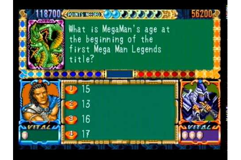 Capcom Quiz and Dragons - Your Final Jeopardy Category is ...