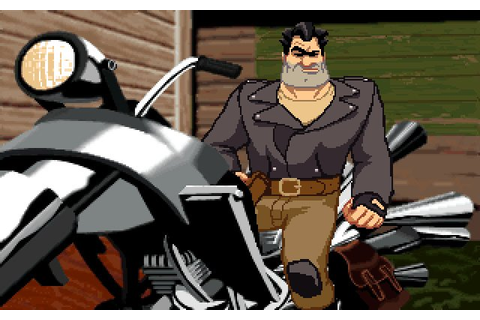 Full Throttle adventure for DOS (1995) - Abandonware DOS