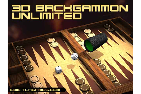 3D Backgammon Unlimited A stylish 3D Backgammon to play on ...