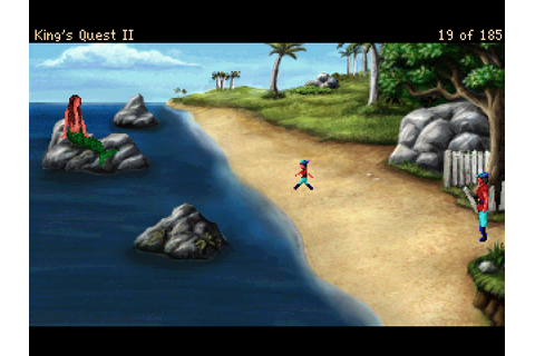 King's Quest II: Romancing the Stones Screenshots for ...