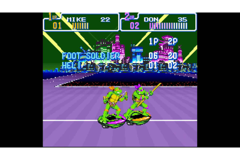 Teenage Mutant Hero Turtles: Turtles in Time - Scene 8 ...