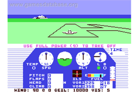 Solo Flight - Commodore 64 - Games Database