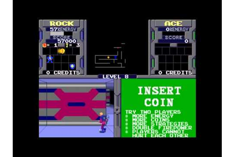 Xybots - Arcade - YouTube