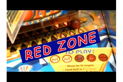 Red Zone Arcade Game | - YouTube