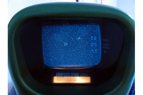 Computer Game Museum Display Case - Computer Space (2-player)