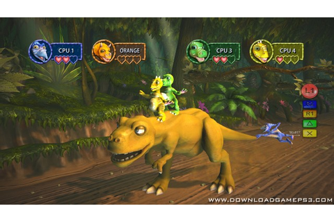 Buzz Junior Dino Den PSN - Download game PS3 RPCS3 PC free