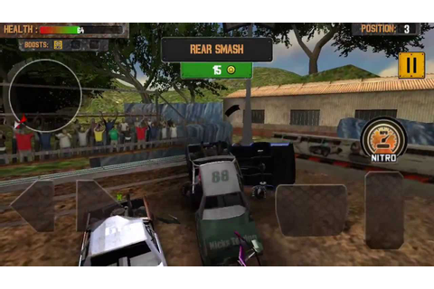 Demolition Derby - Crash Racing game-play trailer - YouTube
