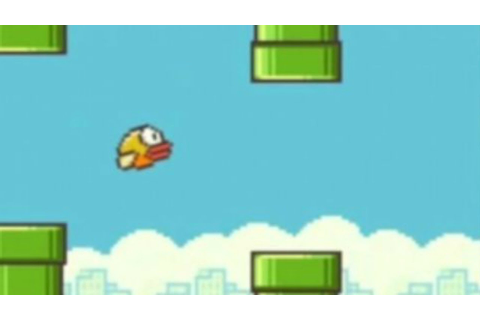 Flappy Bird Gameplay - YouTube