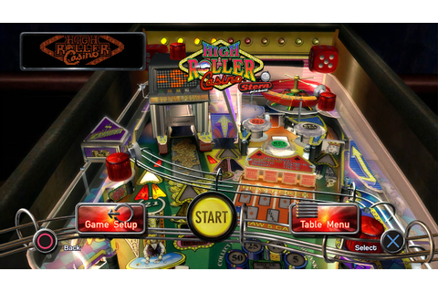 Game Review: The Pinball Arcade – High Roller Casino (PS ...