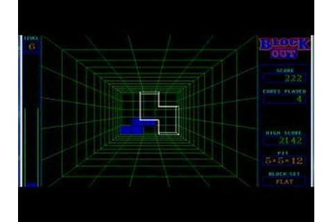 Block Out (3D Tetris) - YouTube
