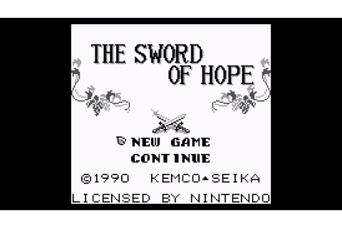 The Sword of Hope (Game Boy) - BGM 13: Inside the Well ...