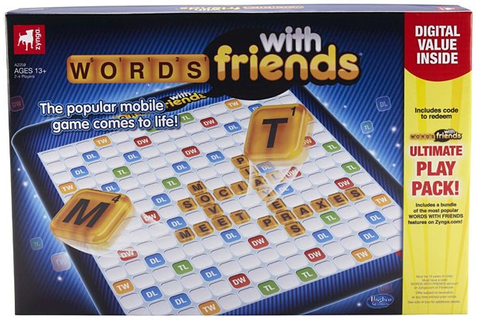 Words with Friends and Draw Something Board Games: Gameception