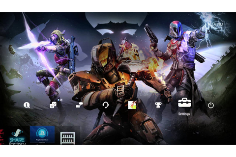[Pre-Order] Destiny: The Taken King [PS4 Theme] - YouTube