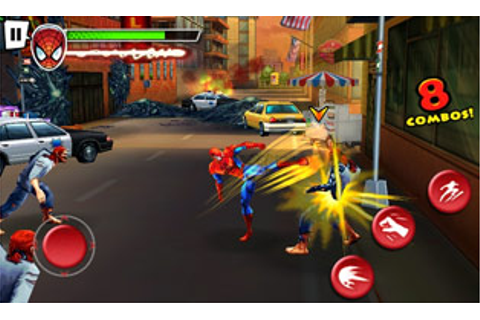 Android Games: Ultimate Spider-Man: Total Mayhem HD
