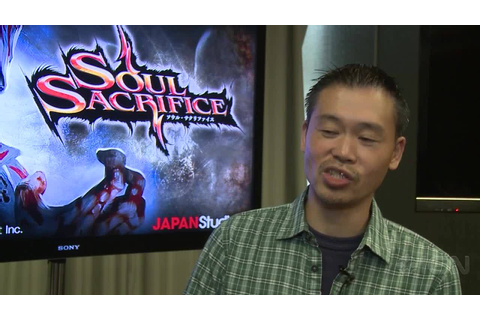 Soul Sacrifice - Keiji Inafune Interview - IGN Video