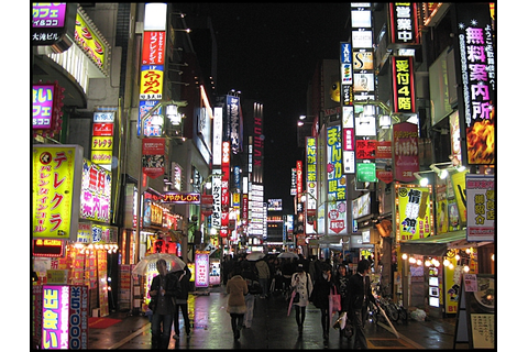 Tokyo at Night. Trip the light fantastic! | thetravelcrew