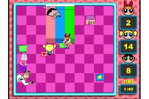Ye Olde CN Games - Powerpuff Girls: Pillow Fight - YouTube