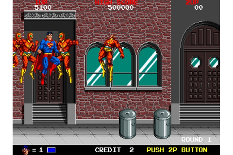 Superhero games from arcade's past – Superman | World 1-1
