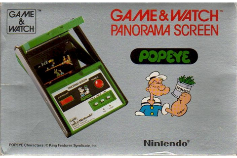 Popeye (Game & Watch) | Nintendo | FANDOM powered by Wikia