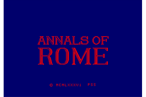Download Annals of Rome - My Abandonware