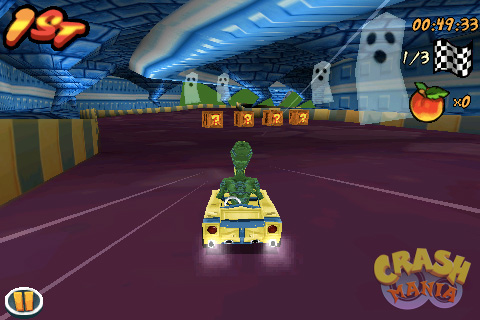 Crash Bandicoot Nitro Kart 3D - Screenshots | Crash Mania